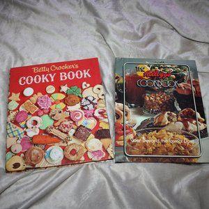Betty Crocker Cooky Book Kelloggs cookbook Vintage